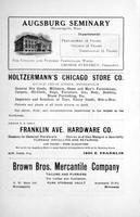 Augsburg Echo February, 1920, Page 03