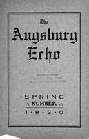 Augsburg Echo Spring Number [March], 1920
