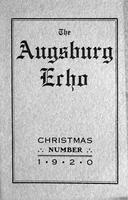 Augsburg Echo Christmas Number [December], 1920