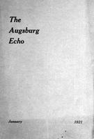 Augsburg Echo January, 1921