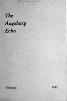 Augsburg Echo February, 1921