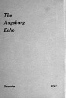 Augsburg Echo  December, 1921