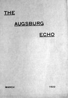Augsburg Echo March, 1922