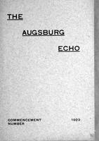 Augsburg Echo Commencement Number [May], 1923