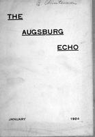 Augsburg Echo January, 1924