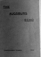 Augsburg Echo Commencement Number [May], 1924