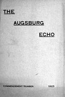 Augsburg Echo Commencement Number [May], 1925