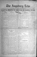 Augsburg Echo November 19, 1925