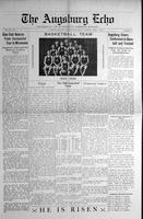 Augsburg Echo April 1, 1926