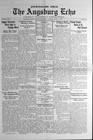 Augsburg Echo March 14, 1929