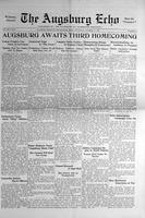 Augsburg Echo October 31, 1929