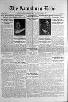 Augsburg Echo October 17, 1929