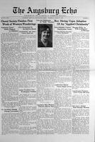 Augsburg Echo March 27, 1930, Page 01
