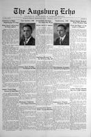 Augsburg Echo April 10, 1930, Page 01