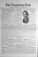 Augsburg Echo January 29, 1931, Page 01