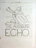 Augsburg Echo December 15, 1933