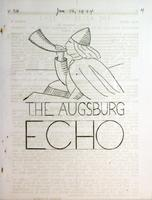 Augsburg Echo January 26, 1934