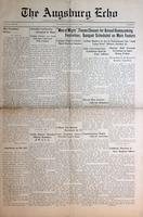 Augsburg Echo October 20, 1933