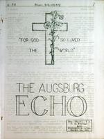 Augsburg Echo March 29, 1934
