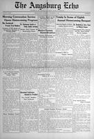 Augsburg Echo November 8, 1934