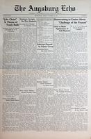 Augsburg Echo October 28, 1935