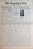 Augsburg Echo November 8, 1935