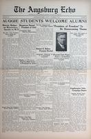 Augsburg Echo November 6, 1936