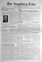 Augsburg Echo October 13, 1938, Page 01