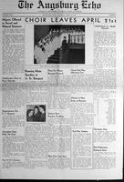 Augsburg Echo April 13, 1939