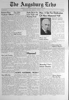 Augsburg Echo October 26, 1939, Page 01