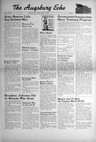 Augsburg Echo March 15, 1943, Page 01
