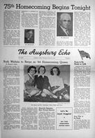 Augsburg Echo October 26, 1944, Page 01
