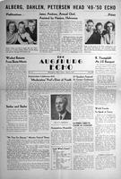 Augsburg Echo April 8, 1949