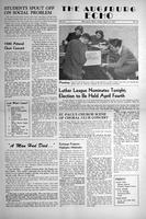 Augsburg Echo March 31, 1950, Page 01