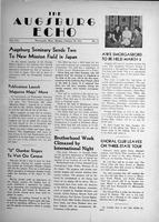 Augsburg Echo February 26, 1951, Page 01