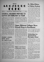 Augsburg Echo February 21, 1951, Page 01