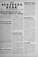 Augsburg Echo February 9, 1951, Page 01
