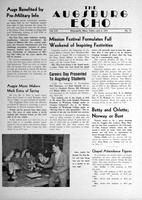 Augsburg Echo April 6, 1951, Page 01