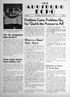 Augsburg Echo March 2, 1951, Page 01