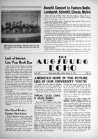 Augsburg Echo March 16, 1951, Page 01