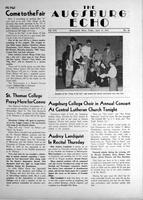 Augsburg Echo April 13, 1951, Page 01