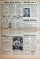 Augsburg Echo May 23, 1956