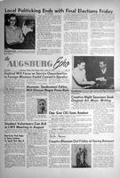 Augsburg Echo April 10, 1957, Page 01