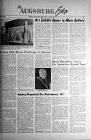 Augsburg Echo January 12, 1961, Page 01