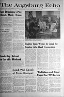 Augsburg Echo April 24, 1963