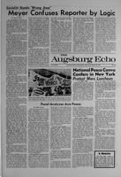 Augsburg Echo March 20, 1969, Page 01