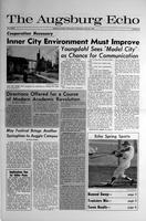 Augsburg Echo April 24, 1969, Page 01