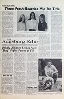 Augsburg Echo September 11, 1969, Page 01