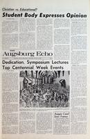 Augsburg Echo October 2, 1969, Page 01