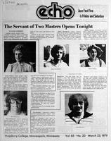 Augsburg Echo March 23, 1979